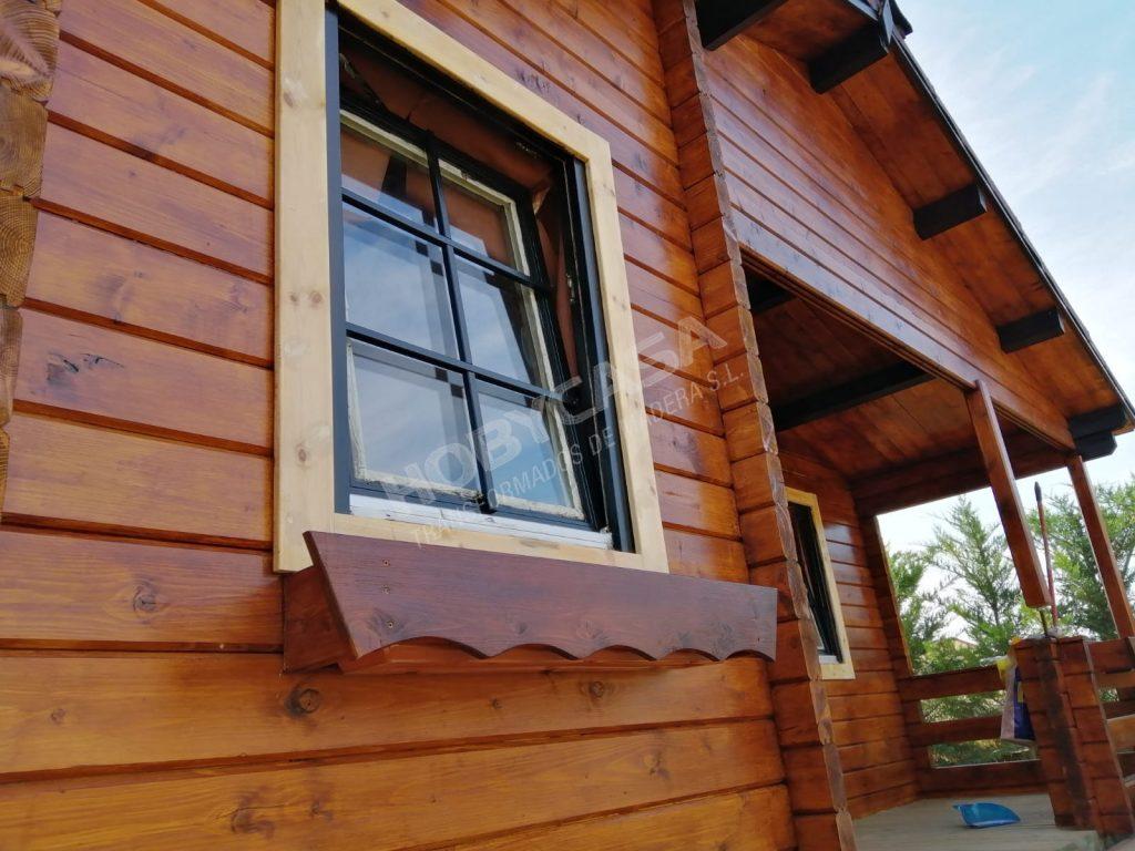 Casas prefabricadas de madera Kay
