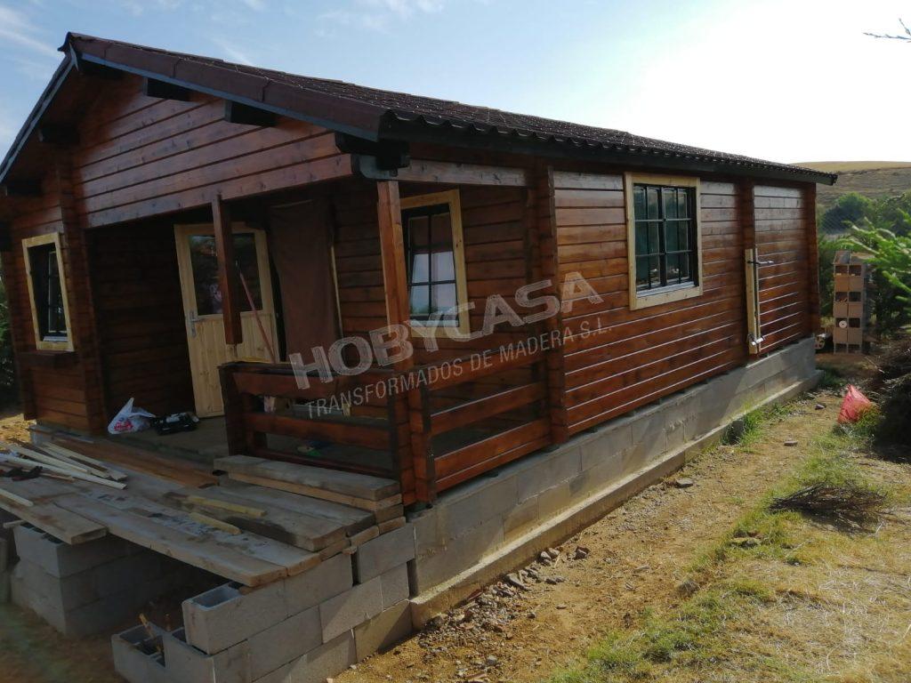Casas de madera 40 m2 Kay