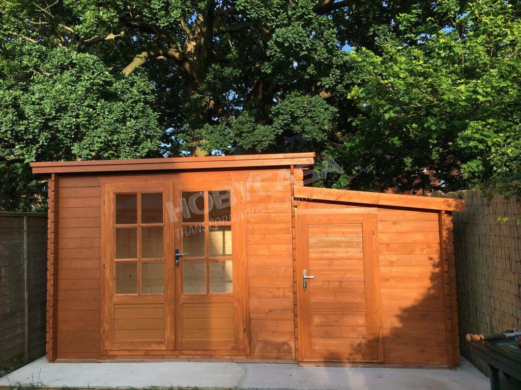 Casetas de madera para jardín a medida Kris anexo
