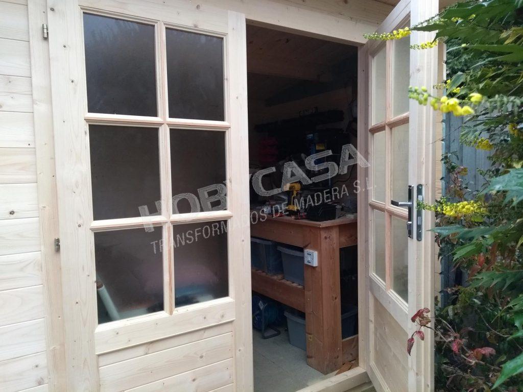 Casetas de madera para jardín a medida Kris