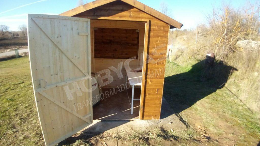 Grosor de la madera Kiosko puerta