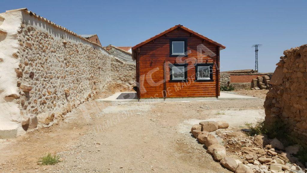 Casas de madera 40 m2 Mallorca