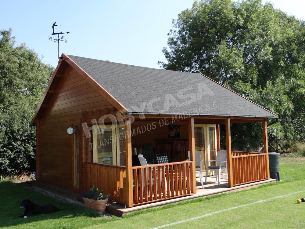 Casas de madera 40 m2 Olaug