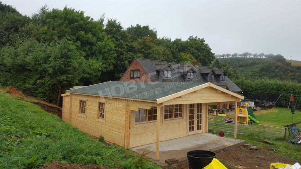 Casas de madera 40 m2 Rune