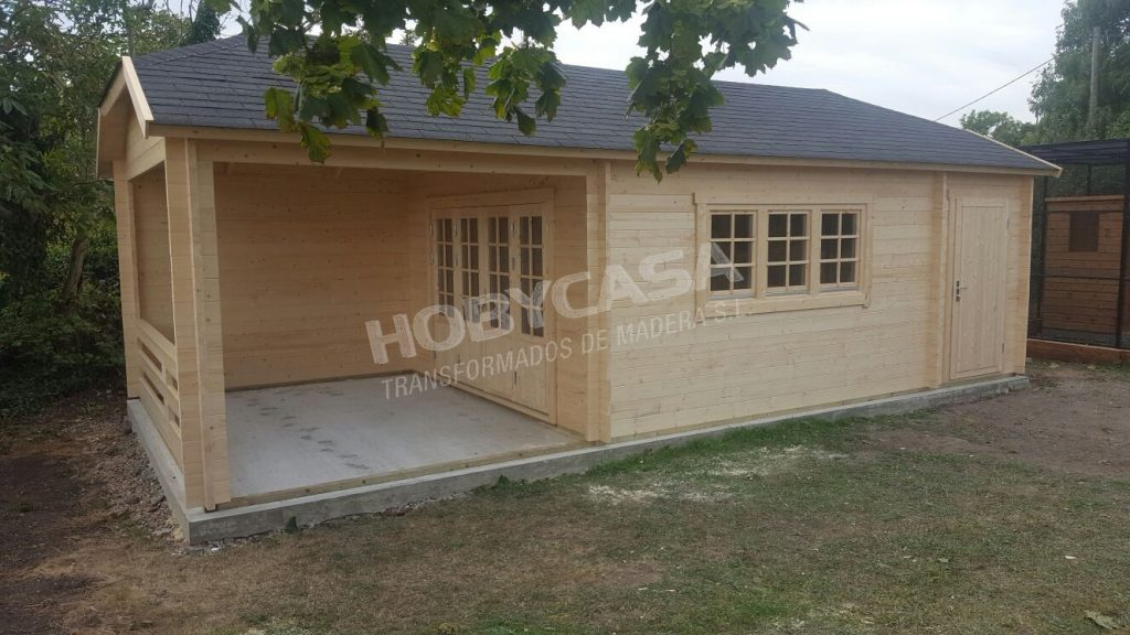 Casas de madera de 30 m2 Viveka
