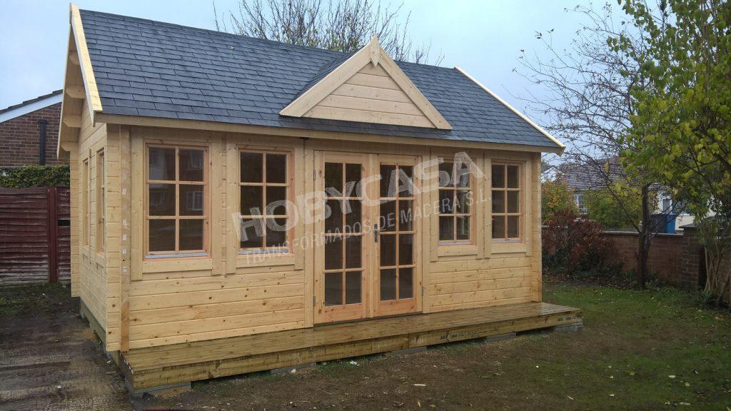 Casas de madera de 30 m2 Trevor