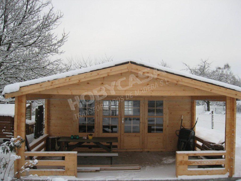 Casas de madera 40 m2 Watford