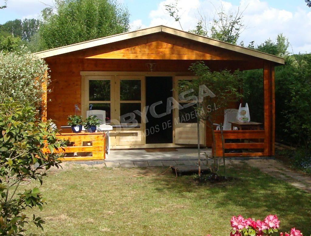 Casas de madera 40 m2 Wigan