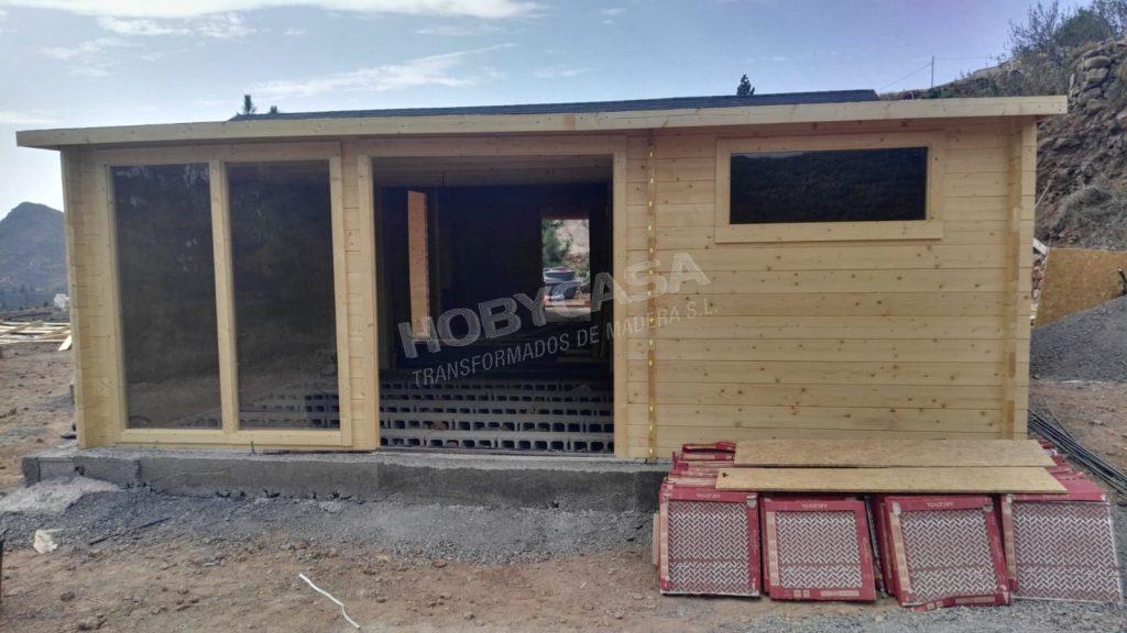 Casas prefabricadas de madera Bloques