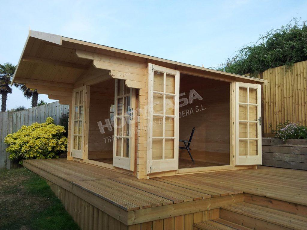 Casas de madera grosor 45 mm Inglund