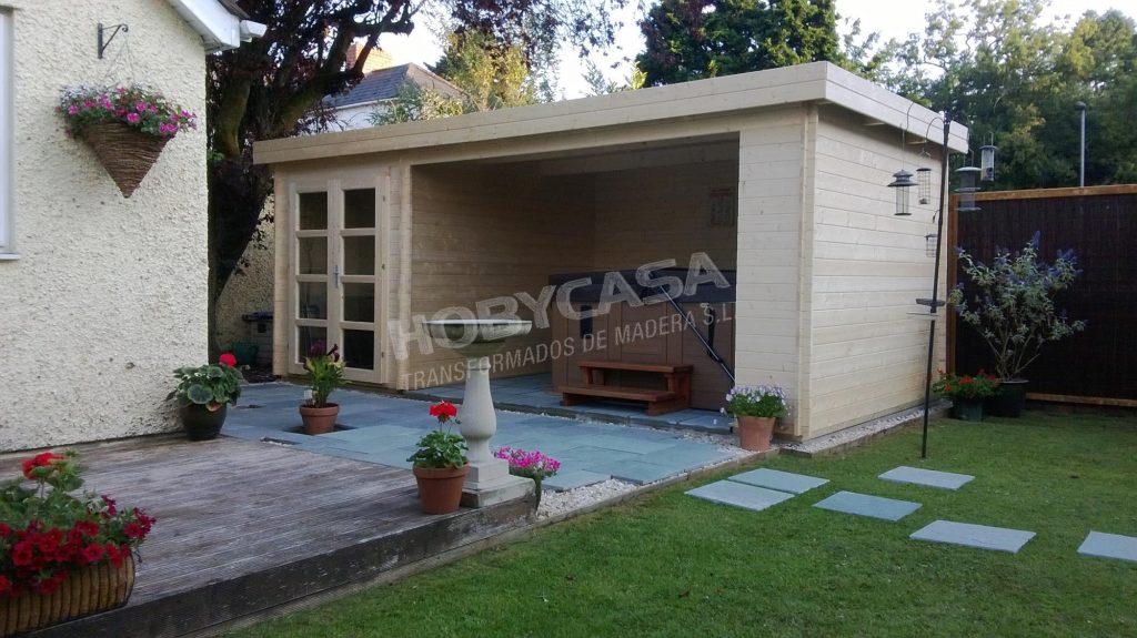 Casas de madera grosor paredes Megamodern
