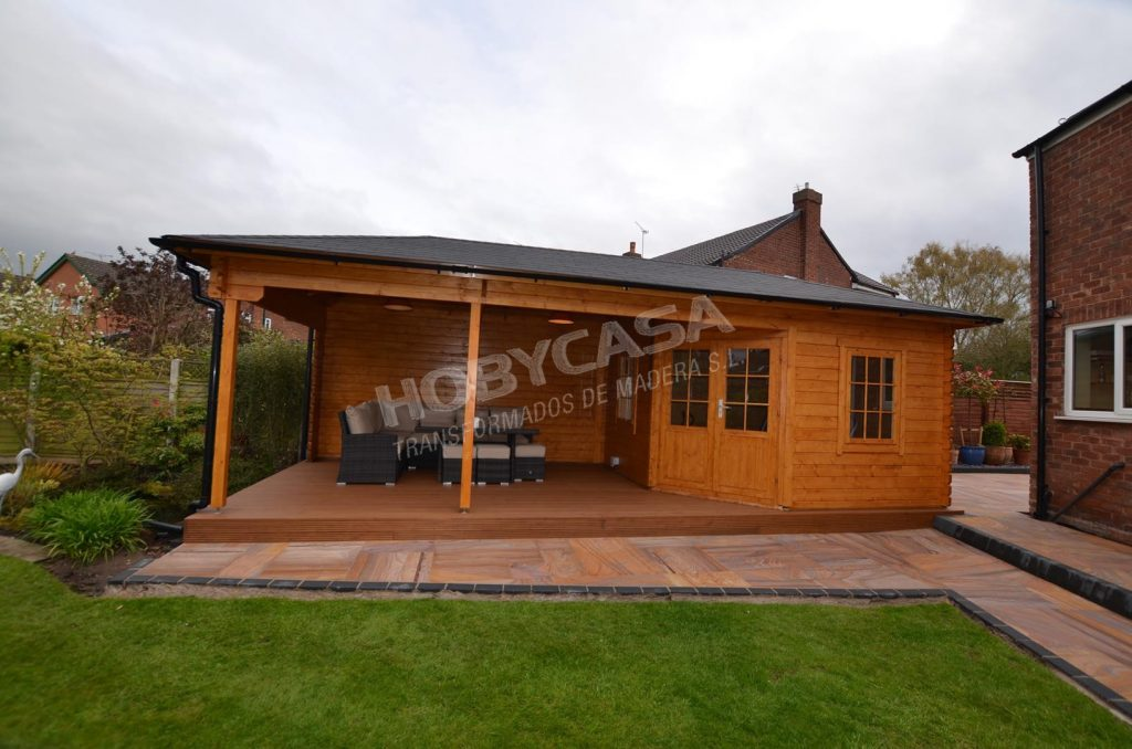 Casas de madera modernas españa Paiva