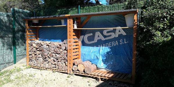 Casas de madera grosor paredes Brema