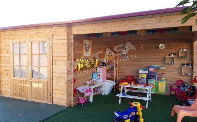 Casas de madera tratada Chappo