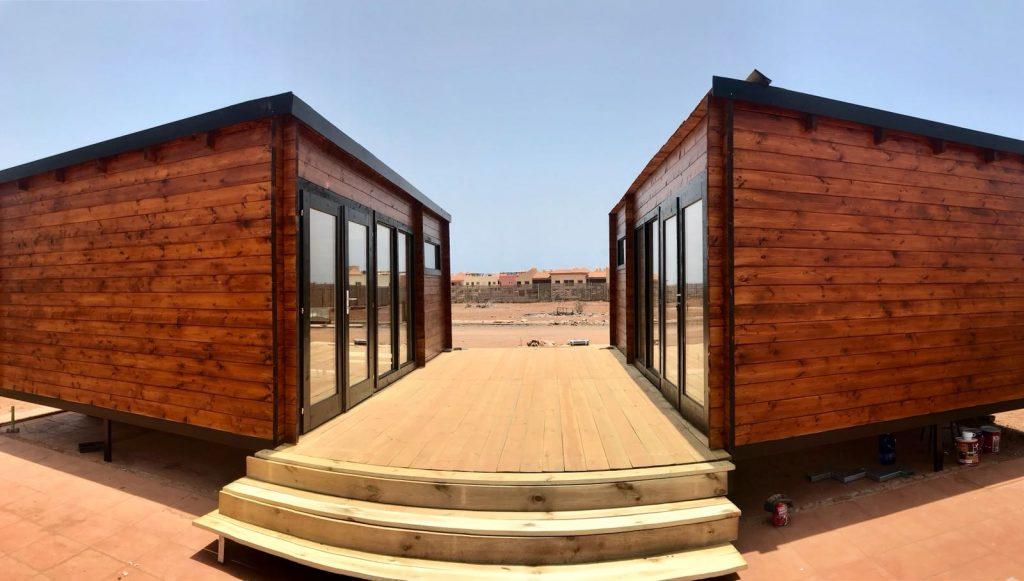 Casas de madera modernas españa Flow