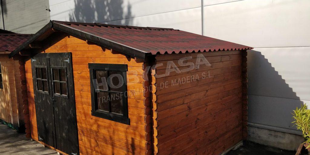 Casas de madera grosor paredes Gorliz