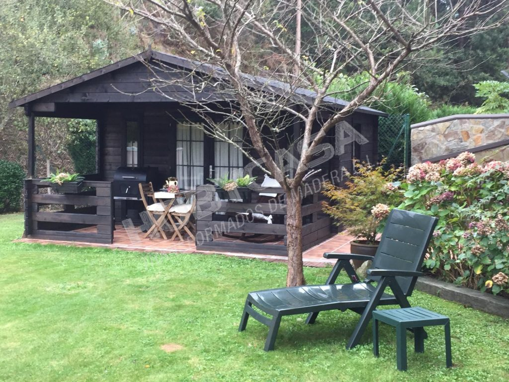 Casas de madera modernas españa Heino