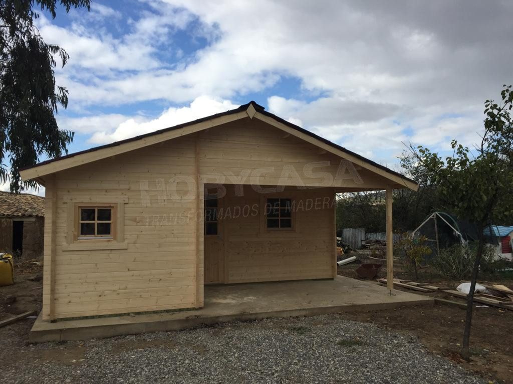 casas de campo prefabricadas javea entrada