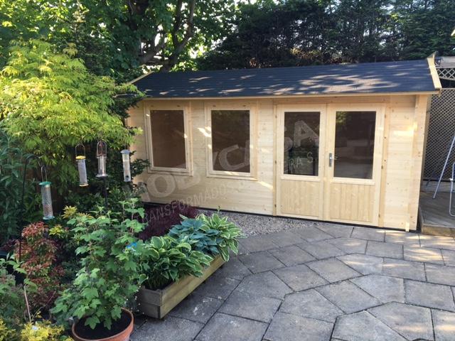 Casas de madera modernas españa Justine