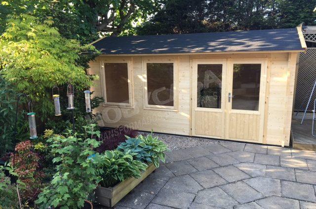 Casas de madera de alta calidad Justine