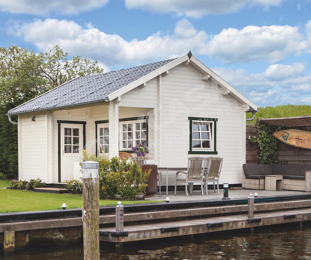 Casas de madera modernas españa Edelweiss