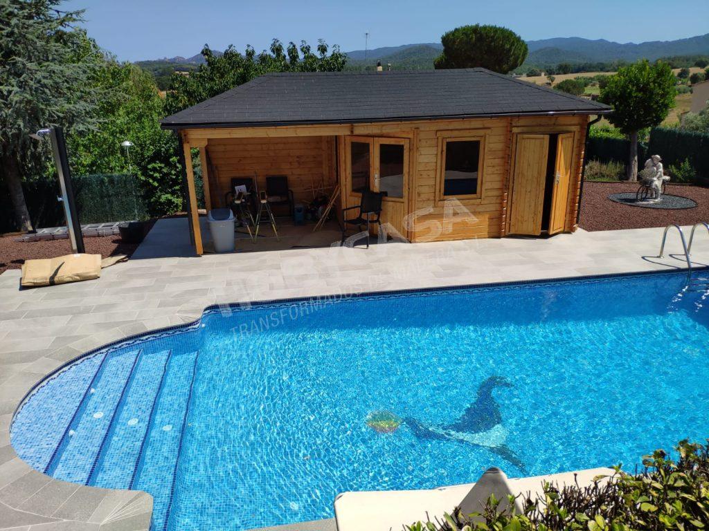 Casas de madera modernas españa Olson