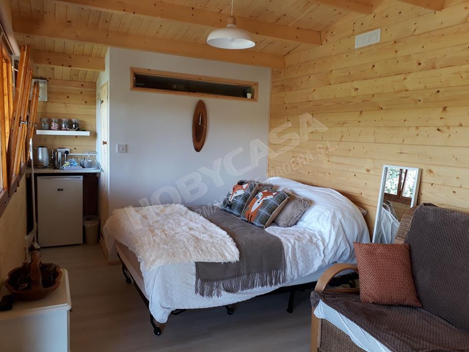Casas de madera modernas españa Piet dentro