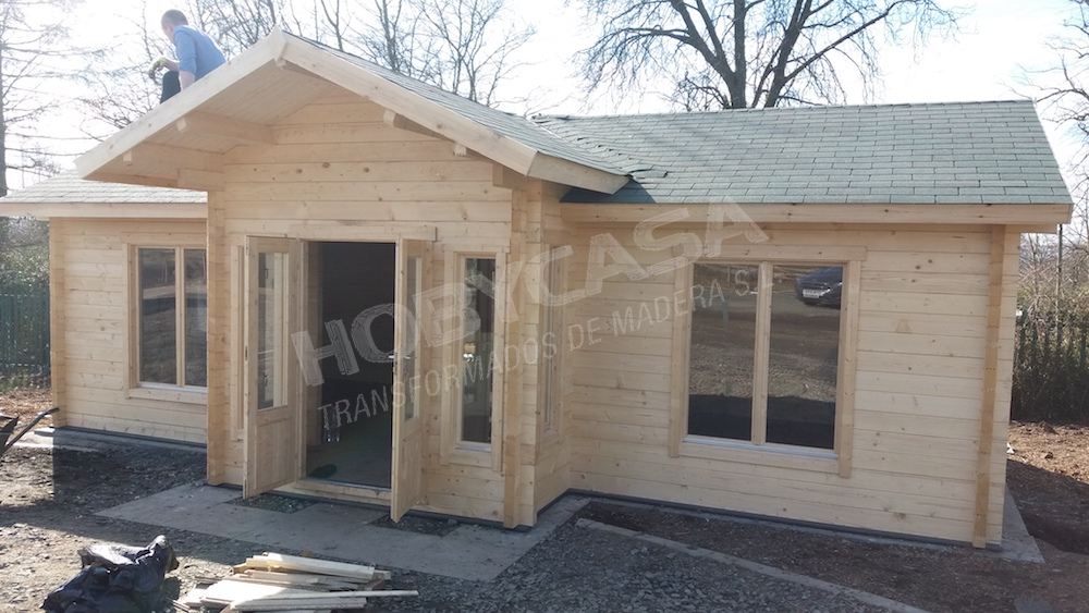 Casas prefabricadas de madera William