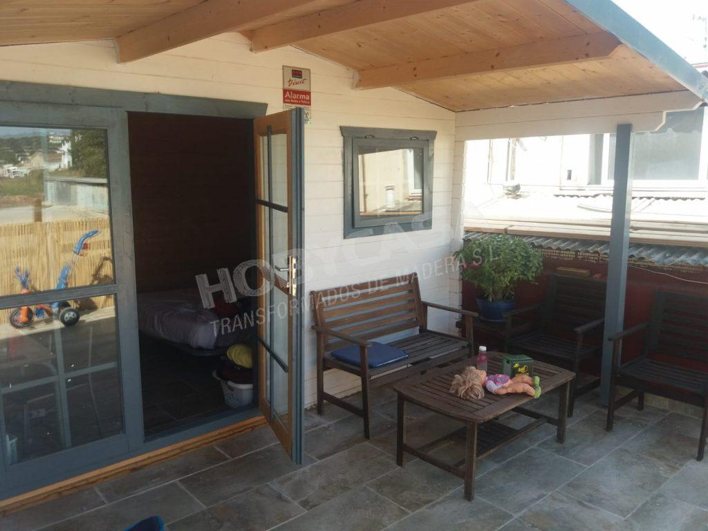 Ampliaciones de casas prefabricadas puerta Wolfgang