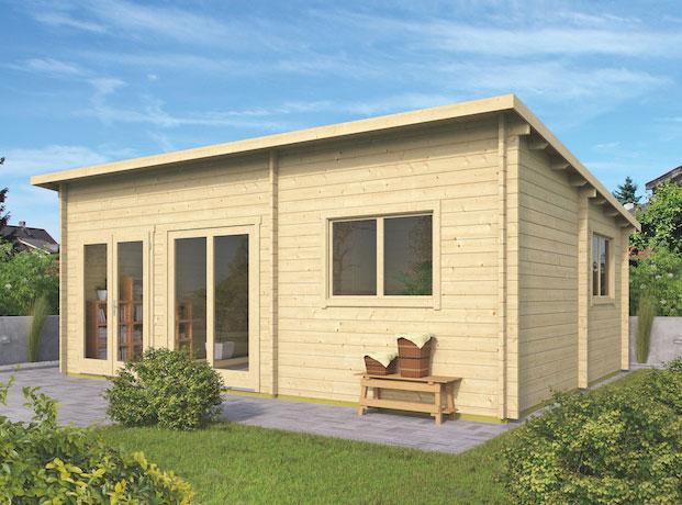 Casas de madera Flat