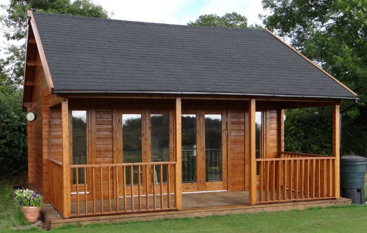 Casas de madera Olaug